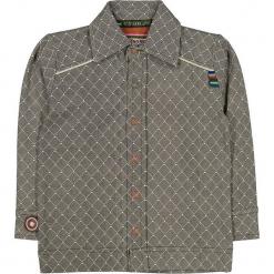 """Koszula """"Fence Me In"""" w kolorze antracytowo-brązowym. Koszule dla chłopców marki bonprix. W wyprzedaży za 82.95 zł."""