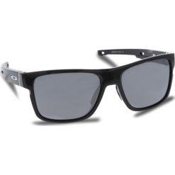 Okulary przeciwsłoneczne OAKLEY - Crossrange OO9361-0257 Polished Black/Black Iridium. Czarne okulary przeciwsłoneczne męskie Oakley, z tworzywa sztucznego. W wyprzedaży za 549.00 zł.