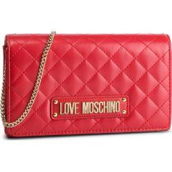 Torebka LOVE MOSCHINO - JC4118PP17LA0500 Rosso. Czerwone torebki do ręki damskie Love Moschino, ze skóry ekologicznej. Za 479.00 zł.