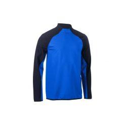 Bluza do rugby na trening R500. Niebieskie bluzy męskie KIPSTA, z materiału. Za 149.99 zł.