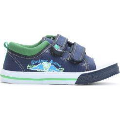 Granatowe Trampki Life We Know. Niebieskie buty sportowe chłopięce Born2be, z denimu. Za 39.99 zł.