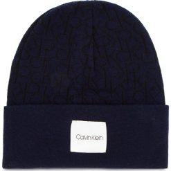 Czapka CALVIN KLEIN - Ck Knitted Beanie M K50K504103 448. Niebieskie czapki i kapelusze męskie Calvin Klein. Za 159.00 zł.