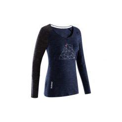 Koszulka LADIES PLACE c. niebi. Niebieskie t-shirty damskie SIMOND. Za 89.99 zł.