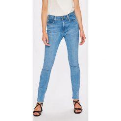 Pepe Jeans - Jeansy Regent x Wiser Wash. Niebieskie jeansy damskie Pepe Jeans. W wyprzedaży za 249.90 zł.