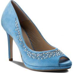 Szpilki EVA MINGE - Almeria 3H 18SF1372304ES 813. Niebieskie szpilki damskie Eva Minge, z materiału. W wyprzedaży za 249.00 zł.