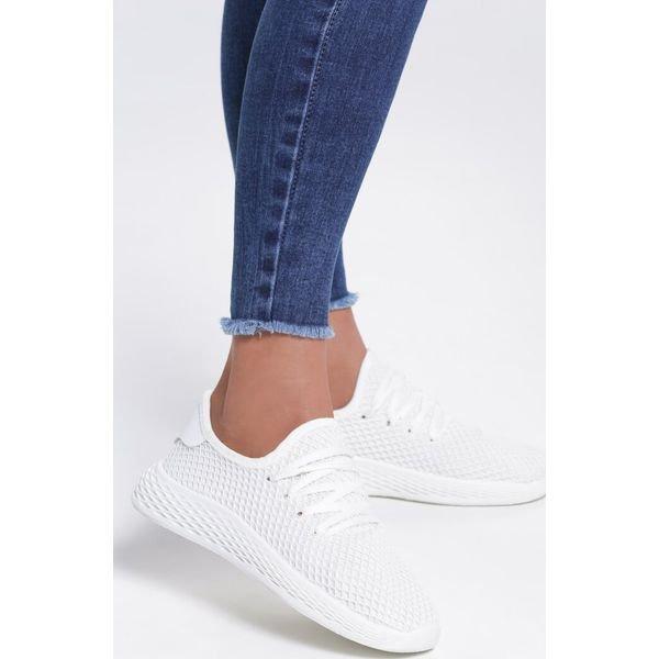 biały buty sportowe damskie