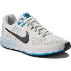 Buty NIKE - Air Zoom Structure 21 904701 007 Vast Grey/Black/Sail. Szare obuwie sportowe damskie Nike, z materiału. W wyprzedaży za 379.00 zł.