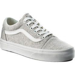 Tenisówki VANS - Old Skool VN0A38G1I1F (Jersey) Gray/True White. Szare trampki męskie Vans, z gumy. W wyprzedaży za 249.00 zł.