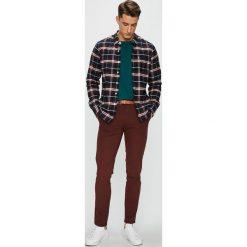 Levi's - Koszula. Brązowe koszule męskie Levi's, w kratkę, z bawełny, button down, z długim rękawem. Za 259.90 zł.
