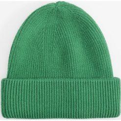 Czapka - Zielony. Zielone czapki i kapelusze damskie Reserved. Za 39.99 zł.