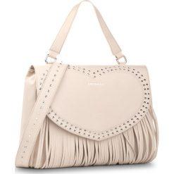 Torebka TWINSET - Top Handle AS8PCF  Avorio C 0018 C. Brązowe torebki do ręki damskie Twinset, ze skóry. W wyprzedaży za 759.00 zł.
