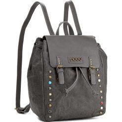 Plecak NOBO - NBAG-D3350-C019 Szary. Szare plecaki damskie Nobo, ze skóry ekologicznej, eleganckie. W wyprzedaży za 139.00 zł.