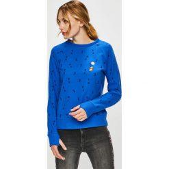Femi Stories - Bluza Bouncy. Niebieskie bluzy damskie Femi Stories, z bawełny. W wyprzedaży za 199.90 zł.