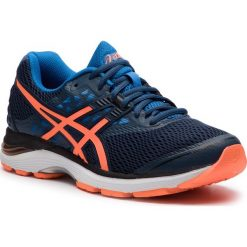 Buty ASICS - Gel-Pulse 9 T7D3N Dark Blue/Shocking Orange/Victoria Blue 4930. Niebieskie buty sportowe męskie Asics, z gore-texu. W wyprzedaży za 279.00 zł.
