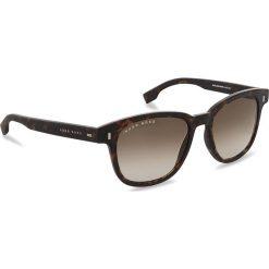 Okulary przeciwsłoneczne BOSS - 0956/S Dark Havana 086. Brązowe okulary przeciwsłoneczne damskie Boss. W wyprzedaży za 519.00 zł.