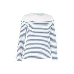 Koszulka żeglarska długi rękaw Adventure 100 damska. Białe t-shirty damskie TRIBORD. Za 79.99 zł.
