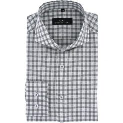 Koszula IGNAZIO slim 15-08-19-K. Szare koszule męskie Giacomo Conti, z bawełny, z długim rękawem. Za 229.00 zł.