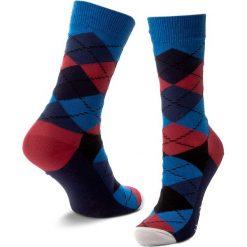 Skarpety Wysokie Unisex HAPPY SOCKS - AR01-067 Granatowy Kolorowy. Skarpety damskie Happy Socks, w kolorowe wzory, z bawełny. Za 34.90 zł.