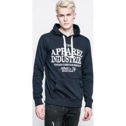 Urban Surface - Bluza. Czarne bluzy męskie Urban Surface, z nadrukiem, z bawełny. W wyprzedaży za 79.90 zł.