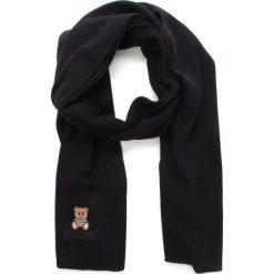 Szal MOSCHINO - 30319 M1866 016. Szare szaliki i chusty damskie marki Giacomo Conti, na zimę, z tkaniny. W wyprzedaży za 439.00 zł.