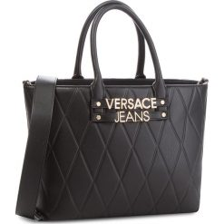 Torebka VERSACE JEANS - E1VSBBL3-70712  899. Czarne torebki do ręki damskie Versace Jeans, z jeansu. Za 749.00 zł.