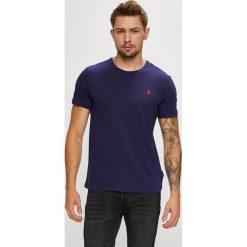 U.S. Polo - T-shirt. Czarne koszulki polo męskie U.S. Polo, z bawełny. W wyprzedaży za 139.90 zł.