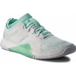 Buty adidas - CrazyTrain Elite W AC8252  Ftwwht/Clemin/Ftwwht. Białe obuwie sportowe damskie Adidas, z materiału. W wyprzedaży za 479.00 zł.