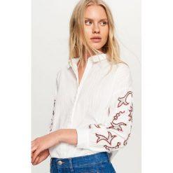 Koszula ze zdobionymi rękawami - Biały. Koszule damskie marki SOLOGNAC. W wyprzedaży za 59.99 zł.