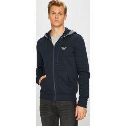 Emporio Armani - Bluza. Czarne bluzy męskie Emporio Armani, z bawełny. W wyprzedaży za 449.90 zł.