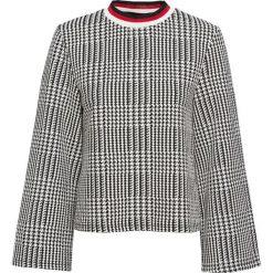 Sweter bonprix czarno-biały w kratę. Swetry damskie marki KALENJI. Za 89.99 zł.