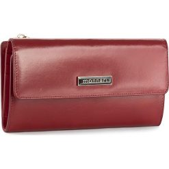 Duży Portfel Damski MONNARI - PUR1050-005 Red. Czerwone portfele damskie Monnari, ze skóry. W wyprzedaży za 129.00 zł.