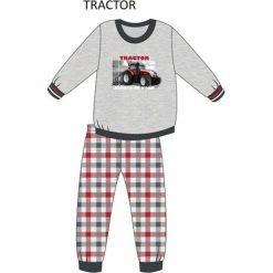 Piżama Kids Boy 593/71 Tractor melanż szary r. 104. Szare bielizna dla chłopców Cornette, melanż. Za 49.87 zł.