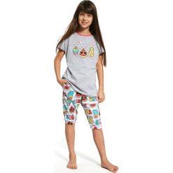 Piżama Girl KR 080/59 Hello summer Szara r. 116. Szare bielizna dla chłopców Cornette. Za 54.05 zł.