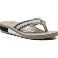 Japonki TOMMY HILFIGER - Corporate Flag Beach Sandal FW0FW03650  Cobblestone 068. Klapki damskie marki bonprix. Za 179.00 zł.
