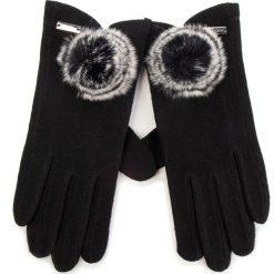 Rękawiczki Damskie WITTCHEN - 47-6-101-1 Czarny. Czarne rękawiczki damskie Wittchen, z materiału. Za 99.00 zł.