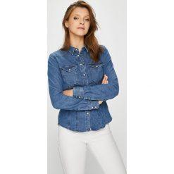 G-Star Raw - Koszula Tacoma. Szare koszule damskie G-Star Raw, retro, z długim rękawem. W wyprzedaży za 399.90 zł.