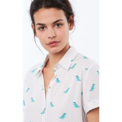 Etam - Top piżamowy Douce. Szare piżamy damskie Etam. Za 119.90 zł.