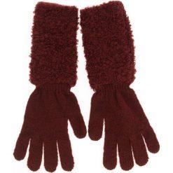 Rękawiczki Damskie MARELLA - Sceicco 65660286  002. Czerwone rękawiczki damskie Marella, z materiału. Za 279.00 zł.