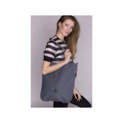 TORBA DAMSKA na ramię w niebieskim kolorze. Niebieskie torby na ramię damskie Drops. Za 139.00 zł.