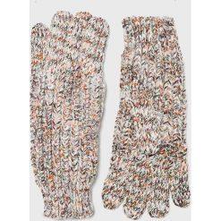 Pepe Jeans - Rękawiczki. Czerwone rękawiczki damskie Pepe Jeans, z dzianiny. Za 119.90 zł.