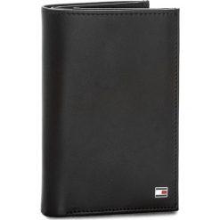 Duży Portfel Męski TOMMY HILFIGER - Eton N/S Wallet W/Coin Pocket AM0AM03088  002. Czarne portfele męskie Tommy Hilfiger, ze skóry. Za 299.00 zł.