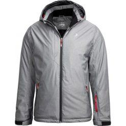 Kurtka narciarska męska KUMN601 - średni szary melanż - Outhorn. Szare kurtki męskie Outhorn, melanż. Za 269.99 zł.