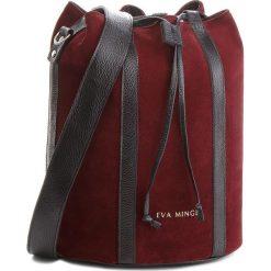 Torebka EVA MINGE - Miami 4G 18NN1372655EF  834. Czerwone torebki do ręki damskie Eva Minge, ze skóry. W wyprzedaży za 349.00 zł.