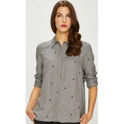 Pepe Jeans - Koszula Arizona. Szare koszule damskie Pepe Jeans, w kratkę, z jeansu, casualowe, z klasycznym kołnierzykiem, z długim rękawem. Za 319.90 zł.