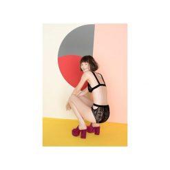 Figi Be Sexy. Czarne figi damskie Undress Code, w geometryczne wzory, z bawełny. Za 151.20 zł.