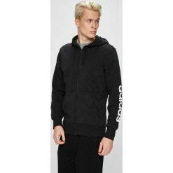 Adidas Performance - Bluza. Czarne bluzy męskie adidas Performance, z bawełny. W wyprzedaży za 199.90 zł.