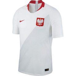 Nike Koszulka piłkarska Reprezentacji Polski Vapor Match JSY Home biała r. XXL (922939-100). Koszulki sportowe męskie Nike. Za 674.91 zł.