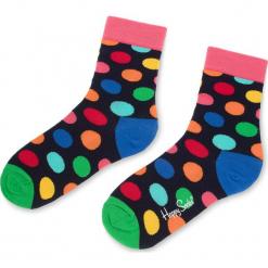 Skarpety Wysokie Unisex HAPPY SOCKS - BDO01-6001 Czarny Kolorowy. Czarne skarpety męskie Happy Socks, w kolorowe wzory, z bawełny. Za 34.90 zł.