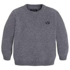 Sweter w kolorze szarym. Swetry dla chłopców marki Reserved. W wyprzedaży za 72.95 zł.