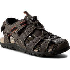 Sandały GEOX - U S.Strada B U6224B 00050 C6024 C.Kawowy. Brązowe sandały męskie Geox, z materiału. W wyprzedaży za 249.00 zł.